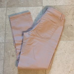 Rose color jeans
